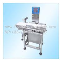 Quality check weigher machine used in the beverage processing line ,size 1200*780*1300mm for sale