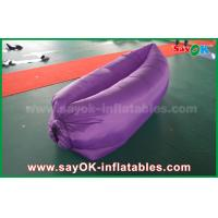 Quality Durable Inflatable Sleeping Air Bags Filling Lazy Bag Lounger For Camping for sale