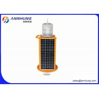 Quality Red Solar Aviation Obstruction Light with High Efficient LED Chip for sale