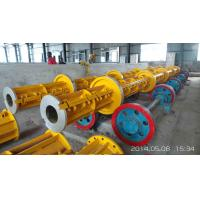 Quality Prestressed Concrete Spun Pile Reinforce Casted Steel Moulds Technical parameter of pole steel mould for sale
