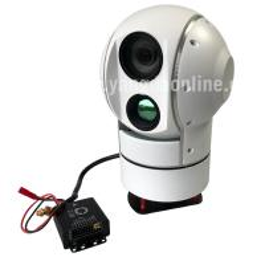 Drone Zoom Camera 30X EOIR Dual Sensor Gimbal camera for fix wing with SDI video output Military application