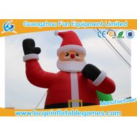 Quality 24ft Inflatable Advertising Products  / Christmas Santa Claus Inflatables for sale