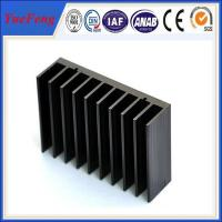 Quality Hot!black anodized aluminum extrusion heatsink,extruded profile aluminum heat sink factory for sale