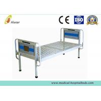 Quality Electronic Powder Coated Simple Medical Hospital Beds Steel Frame Flat bed (ALS-FB001) for sale