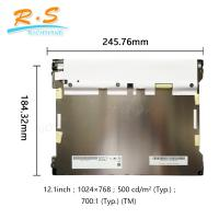 "Buy cheap AUO G121XTN01.0 IPS Industrial LCD Screen Panel 12.1"" LVDS 3.3V 1024(2)×768(2) , from wholesalers"
