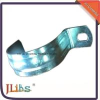 Quality Zinc Galvanized Metal Pipe Clips / Carbon Steel Metal Tube Clamps G Clamp Structure for sale