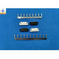Quality 1.5mm Pitch Battery Connectors with Tin-plated terminals 6 Poles Crimp Wire to Board Connector for sale