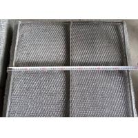 Quality Durable 304 Stainless Steel Wire Mesh Demister Pad With Custom Shapes for sale