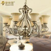 Quality Modern Decorative Hanging Ceiling Lights / Glass Classic Chandelier for sale