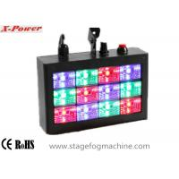 Quality Sound-activated LED Strobe Lights With 12 pcs * 1w RGB High Power LEDs  VS-74 for sale