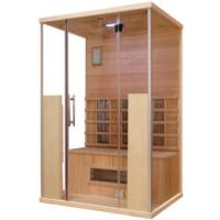 Quality Red Cedar Dry Heat Sauna With Transom Windows For 1 - 8 Person , ROHS CE Certification for sale