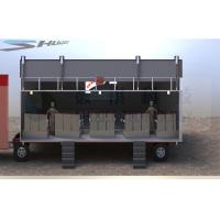 Quality Outdoor Large Mobile 5D Cinema , 12 Seats Cinema Truck for sale
