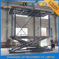 Double Deck Car Parking Lift  Garage Car Elevator From Basement To Ground Level