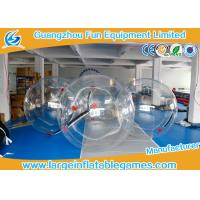 Quality 1.8m Dia Inflatable Walk On Water Ball / Inflatable Human Hamster Ball for sale