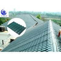 Quality Corrosive Resistance ASA Synthetic Resin Roof Tile Waterproof Plastics Traditional Chinese Sheet for sale