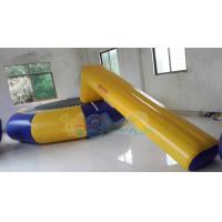 Quality Inflatable Water park Trampoline combo for sale