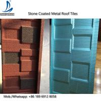 Quality 0.4mm Thickness of Steel Sheet and Color Steel Plate Material Price Stone Coated Roofing Tiles Kerala for sale
