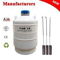 China TIANCHI Liquid Nitrogen Biological Container 15L Dewar Flask Quotation for sale