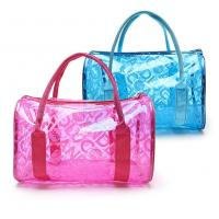 Quality Fashion Design PVC Cosmetic Bag 0.3mm Thickness For Waterproof Storaging for sale