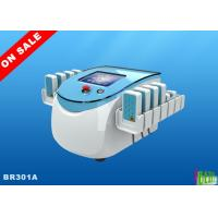 130mw Smartlipo Diodes Lipolaser Slimming Machine 8'' Display , 176 Mitsubishi Diodes for sale