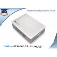 Quality White 6 Port Desktop  Power Supply with USB 50 w Quick Charger UL CE FCC for sale