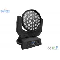 Quality LED 36pcs * 10W 4in1 Wash Moving Head Light for Party RGBW color Aluminum Alloy for sale