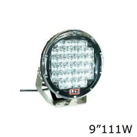 Quality 4X4 Outside Flood Light Fixtures , 10000 Lumen Round Led Driving Lights for sale