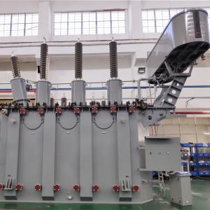 China Low Noise Oil Immersed Transformer For Mentallurgy 110kV 40mVA on sale