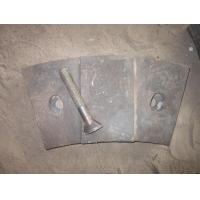 Quality OEM High Chrome White Iron Mill Liners with Bolts Inspected by Visual and UT Test for sale