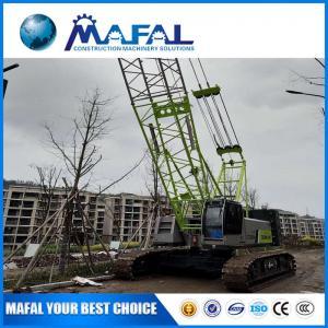 Quality MAFAL High Quality 50t jib  telescopic mini Crawler Crane Zcc550h made in china for sale