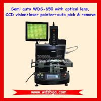 Quality 110V automatic bga rework system WDS-650 for mobile phone solder and repair,new ccd camera bga rework station for sale
