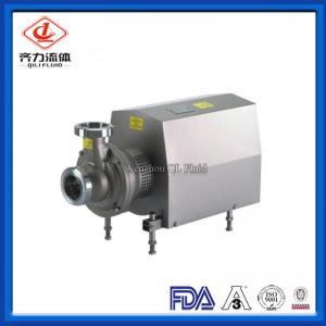 China Negative Pressure Sanitary Centrifugal Pump Self Priming Centrifugal Pump on sale