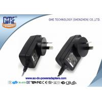 Quality 1.5m DC Cable Wall Mount Power Adapter 12V RCM Certificated With Black Color for sale