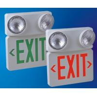 Buy cheap UL cUL CSA Led Exit sign with twin spotlights from wholesalers
