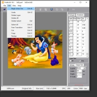 Quality 2D TO 3D Lenticular Software for making 3d/flip/morphing/zoom/animation Lenticular Effect for sale