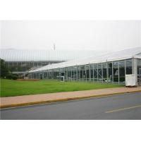 China Transparent Clear Roof Wedding Tent Galvanized Steel Insert For 500 People on sale