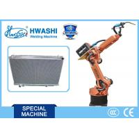 China CNC Automatic Welding Robot for Car Radiator Seam Welding , Industrial Robotic Arm on sale