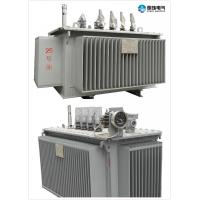 Quality 6.6 KV - 250 KVA Oil Immersed Transformer Oil Cooled Transformers Safety for sale