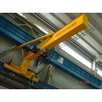 Quality Compacted Frame Wall Traveling Truck Jib Cranes For Fitting & Fabrication Workstation for sale