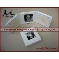Quality Leather Wedding Double cd dvd Album Holder for sale