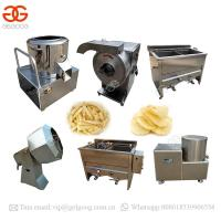 China Potato Chips Frying Production Line French Fries Machine Price In India on sale