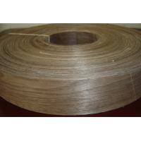Quality Natural Walnut Wood Veneer Edge Banding Tape/Rolls for sale