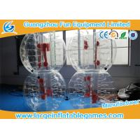 Quality Top TPU Inflatable Bubble Ball Soccer Bumper Kids / Adults Body Zorb Football Suit for sale