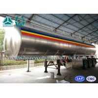 China Light Weight Gasoline Fuel Tank semi trailer For Oil Transportation on sale