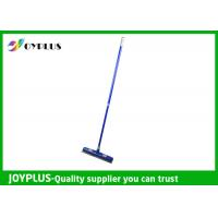 Quality Commercial Floor Squeegee , Rubber Floor Squeegee With Handle Customized Color for sale
