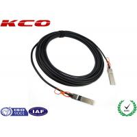 China Compatible SFP Module Gigabit Ethernet Cable 10 GBPS Active Optical for sale