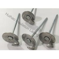 """Quality 2-1 / 2"""" Stainless Steel Lacing Insulation Anchor Pins For Fastening Lagging To Exhaust Systems for sale"""