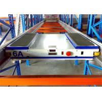 Quality Anti Rust Adjustable Durable Shuttle Pallet Racking With Pallet Runner for sale