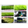 Buy cheap Light Green Artificial Grass Football Carpet with PP + NET + SBR GLUE Backing from wholesalers
