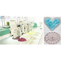 China Dahao 8 LCD Mixed Flat / Coiling / Tapping Computerized Embroidery Machine on sale